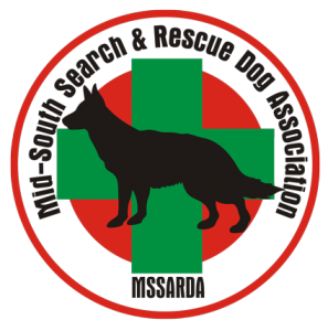 Mid-South Search and Rescue Dog Association logo