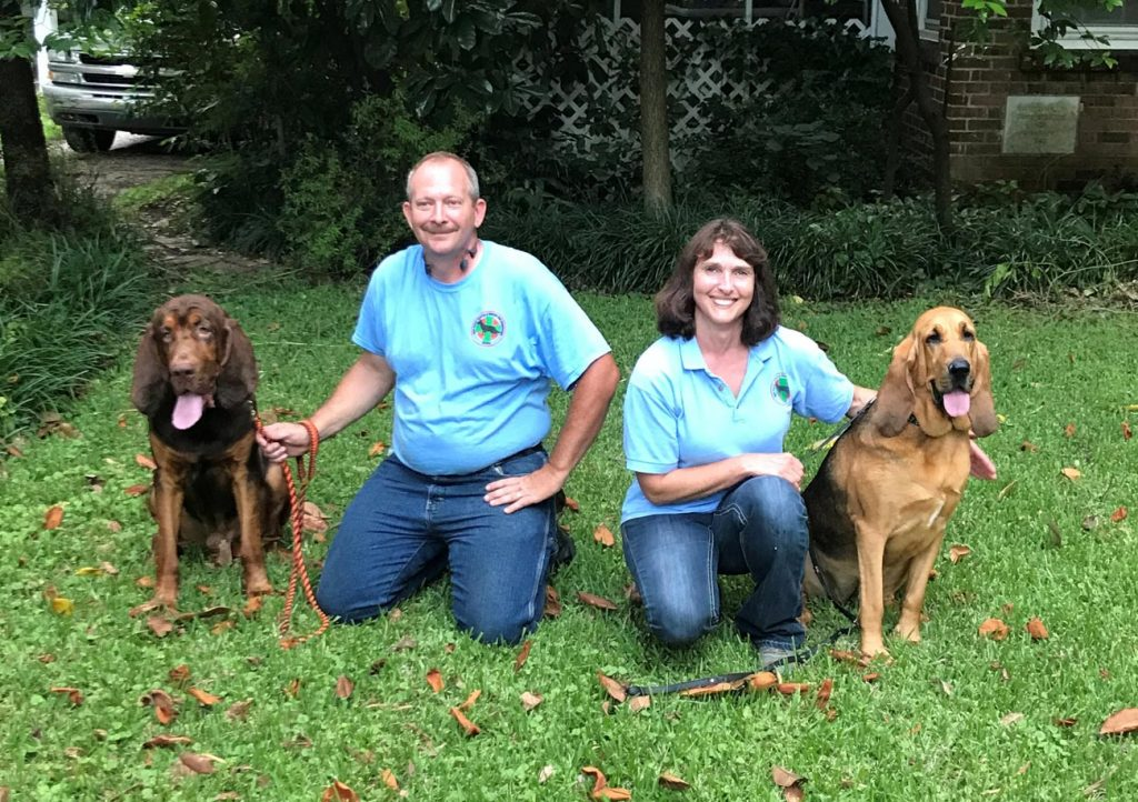 Billy Miller and SAR K9 Gus of Corinth and Lisa Hiatt and SAR K9 Ember of Ashland recently earned Canine SARTECH III certifications from the National Association for Search and Rescue (NASAR).
